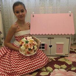 Аксессуары для кукол - Кукольный домик детский для барби, 0