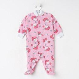 Одежда и обувь - Тошка Комбинезон, цвет розовый/единорожки, рост 86 см, 0