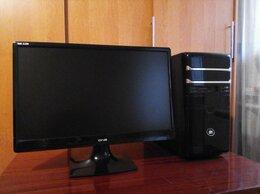 Настольные компьютеры - Core i3+большой монитор(FULL HD), 0