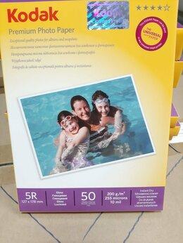 Бумага и пленка - Фотобумага Kodak 13х18 глянцевая 200г/м 50л., 0