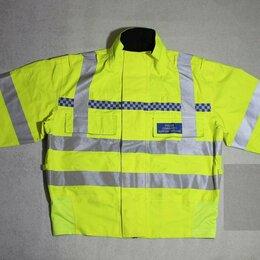 Одежда и обувь - Оригинал мембранная Goretex куртка полиции Англии со светоотражающими полосами, 0