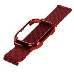 Ремешки для умных часов - Ремешок для Apple Watch USAMS US-ZB068 Magnetic Loop Strap 42/44mm красный, 0