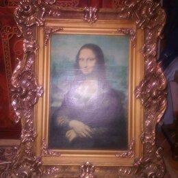 Картины, постеры, гобелены, панно - картина Леонардо да винчи мона лиза джоконда, 0