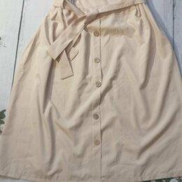 Юбки - Новая женская юбка миди 48 рр, 0