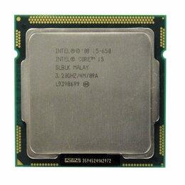 Процессоры (CPU) - Процессор 1156 Intel core i5-650 3.20 GHz, 0