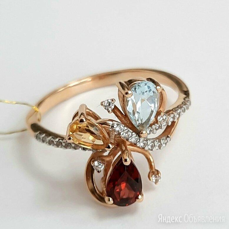 Золотое кольцо ,18,5 по цене 10990₽ - Кольца и перстни, фото 0