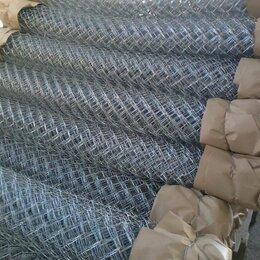 Заборчики, сетки и бордюрные ленты - Продам сетку рабицу оцинкованную Лиски, 0