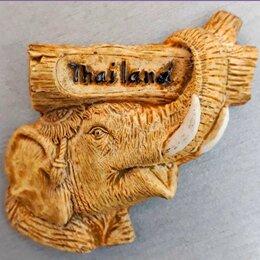 Сувениры - Продаю магнит на холодильник из Таиланда с слоном, 0