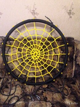 Качели - Качели гнездо (паутинка) новые, 0
