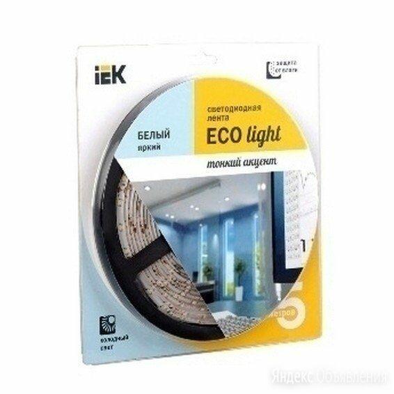 Лента светод LSR-3528WW120-9.6вт IP20-12V 2700 ТЕПЛЫЙ БЕЛЫЙ ИЭК по цене 40₽ - Светодиодные ленты, фото 0