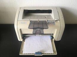 Принтеры и МФУ - Принтер лазерный HP LaserJet 1018, 0