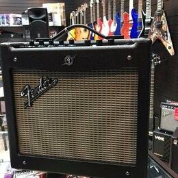 Гитарное усиление - Fender mustang I (V2) комбоусилитель, 0