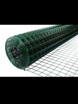 Сетки и решетки - Сетка сварная в пвх, Ячейка 5 см, высота 1.5 метра, 0