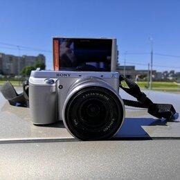Фотоаппараты - Фотоаппарат Sony nex-F3 kit с объективом 18-55 oss, 0