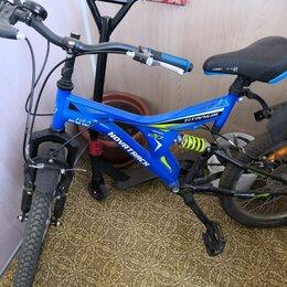 Велосипеды - Велосипед горный, синий цвет, в отличном состоянии , 0
