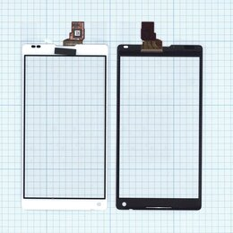 Дисплеи и тачскрины - Сенсорное стекло (тачскрин) для Sony Xperia ZL…, 0