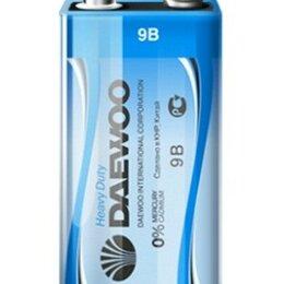 Батарейки - Батарейки Daewoo 6F22 NEW, 0
