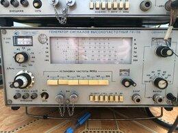 Измерительные инструменты и приборы - Генератор сигналов высокочастотный Г4-116, 0