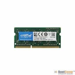 Модули памяти - Оперативная память DDR3 SODIMM 4Gb 1600MHz Crucial CT51264BF160BJ, 0