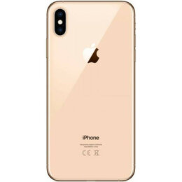 Корпусные детали - Корпус iPhone XS (золотой), 0