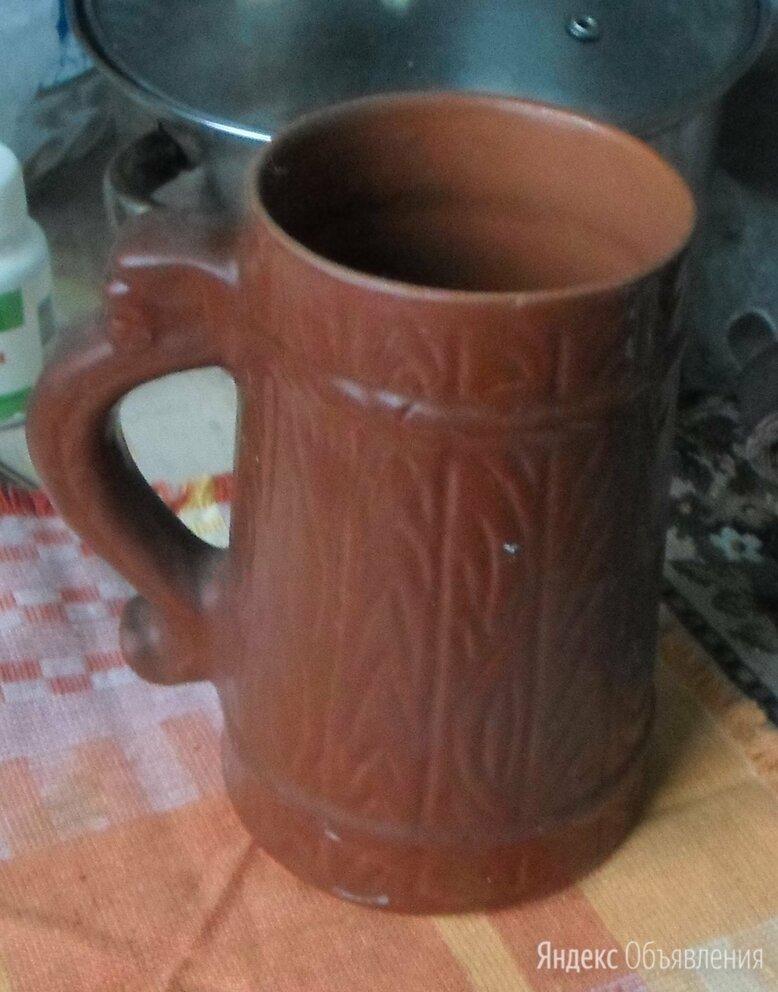Кружка пивная, керамика, импорт по цене 150₽ - Кружки, блюдца и пары, фото 0