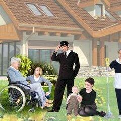 Помощницы по хозяйству - Помощники по хозяйству/семейная пара, 0