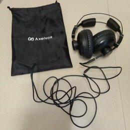 Наушники и Bluetooth-гарнитуры - Наушники axelvox hd 272, 0