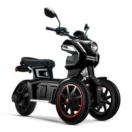 Мототехника и электровелосипеды - Электробайк Doohan iTank 4200W (черный), 0