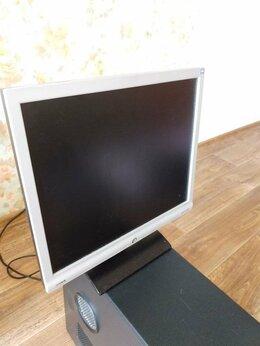 Настольные компьютеры - Системный блок (E7300, 120гб, ОЗУ 2GB), монитор…, 0