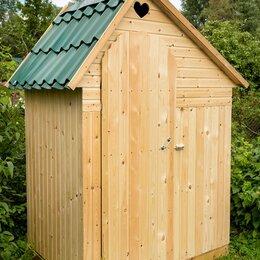 Биотуалеты - Туалет дачный деревянный  с умывальником , 0