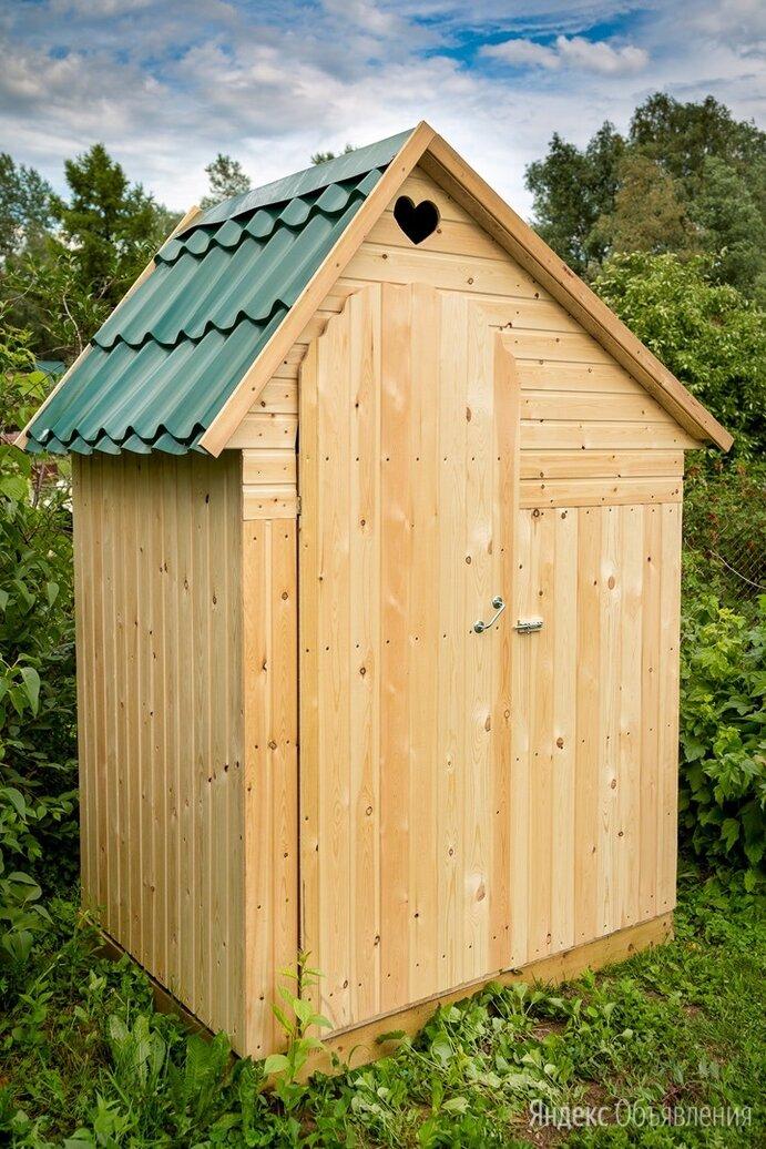 Туалет дачный деревянный  с умывальником  по цене 17600₽ - Биотуалеты, фото 0