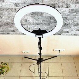 Осветительное оборудование - Кольцевая лампа 54 см с крепким штативом, 0