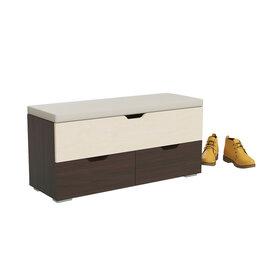 Пуфики - Новый пуфик с обувницей в прихожую, 0