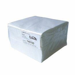 Мебель для учреждений - Салфетки бумажные LIME 33х33см 2-слойные белые…, 0