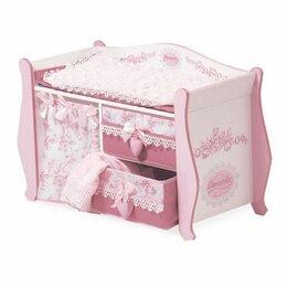Игрушечная мебель и бытовая техника - Пеленальный столик для кукол DeCuevas Даниэла 63 см 54421, 0