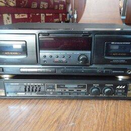 Музыкальные центры,  магнитофоны, магнитолы - усилитель ВЕГА,2х кассетный магнитофон AIWA 5000 р., 0
