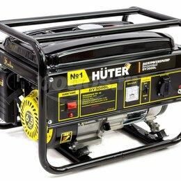 Электрогенераторы - Электрогенератор бензиновый ,HUTER ,новый , 0