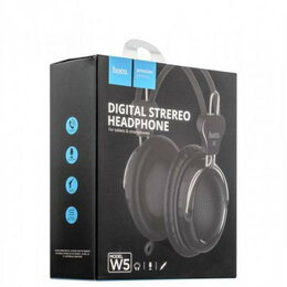 Чехлы - Наушники с микрофоном HOCO W5 Digital Stereo…, 0