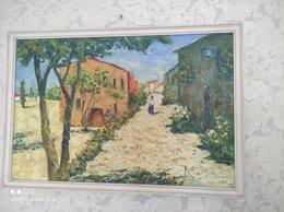 Картины, постеры, гобелены, панно - Картина А. Бирюкова Улица в Испании, 0