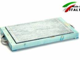 Электрические грили и шашлычницы - Сковорода гриль Bisetti 99274A мясо овощи рыбы…, 0