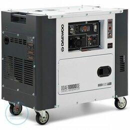 Электрогенераторы - Дизельный генератор Daewoo DDAE 10000SE, 0