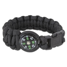 Браслеты -  Браслет Rothco с компасом, цвет черный, 0