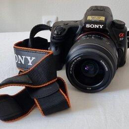 Фотоаппараты - Зеркальный фотоаппарат sony, 0