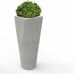 Садовые фигуры и цветочницы - Вазон бетонный Смисэтти, 0