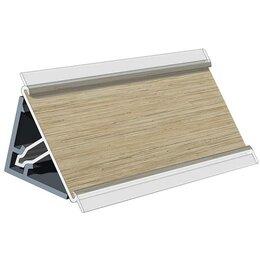 Комплектующие - Плинтус пластиковый кухонный 3000х25х25 мм. №…, 0