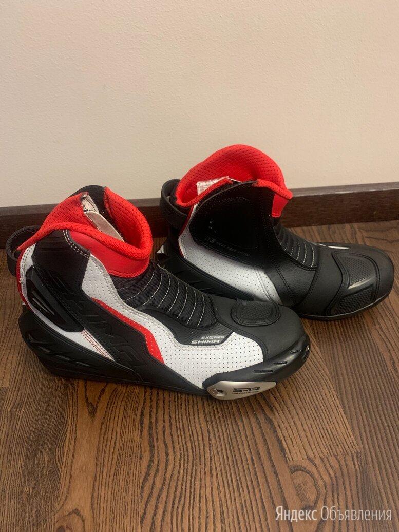 Обувь мотоботинки по цене 9000₽ - Мотоэкипировка, фото 0