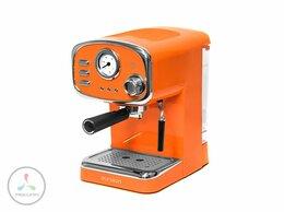 Кофеварки и кофемашины - Кофеварка Oursson EM1505/OR рожкового типа,…, 0