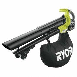 Воздуходувки и садовые пылесосы - Воздуходувка аккумуляторная Ryobi RBV1850 5133004641, 0