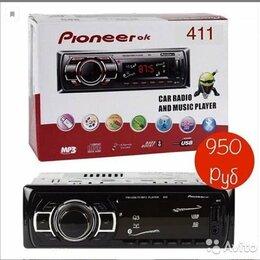 Музыкальные центры,  магнитофоны, магнитолы - Автoмагнитoлa Рiоneеr 411 Bluetooth с пультoм, 0