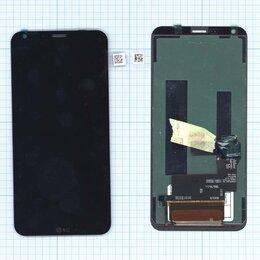 Дисплеи и тачскрины - Модуль (матрица + тачскрин) для LG Q6a M700 черный, 0